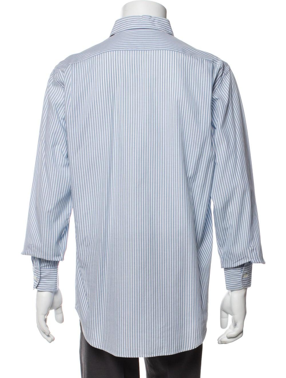 Yves Saint Laurent Rive Gauche Vintage Striped Sh… - image 3