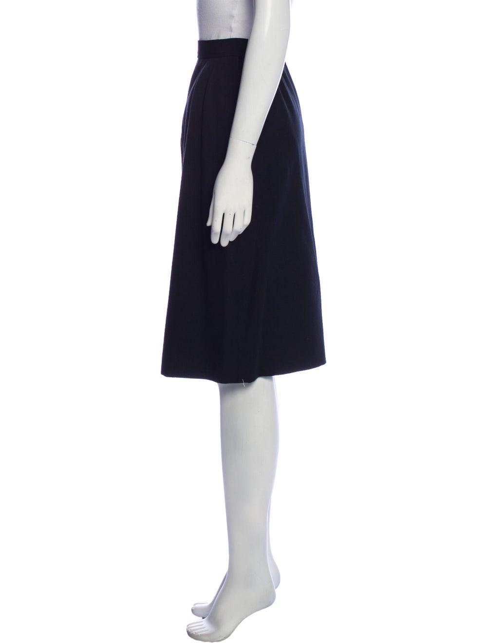 Yves Saint Laurent Rive Gauche Vintage Knee-Lengt… - image 2