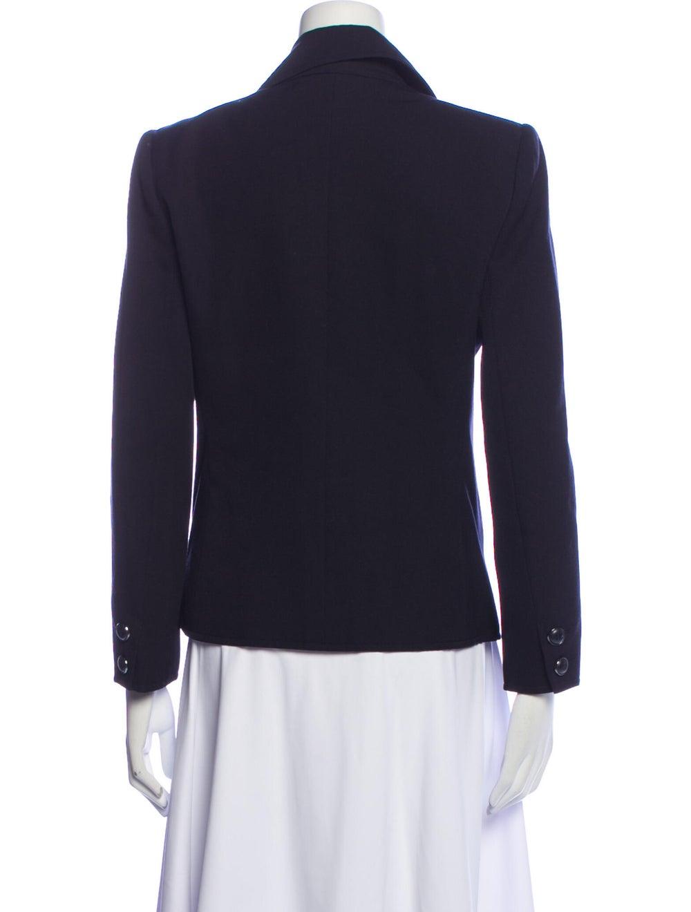 Yves Saint Laurent Rive Gauche Vintage Blazer Blue - image 3