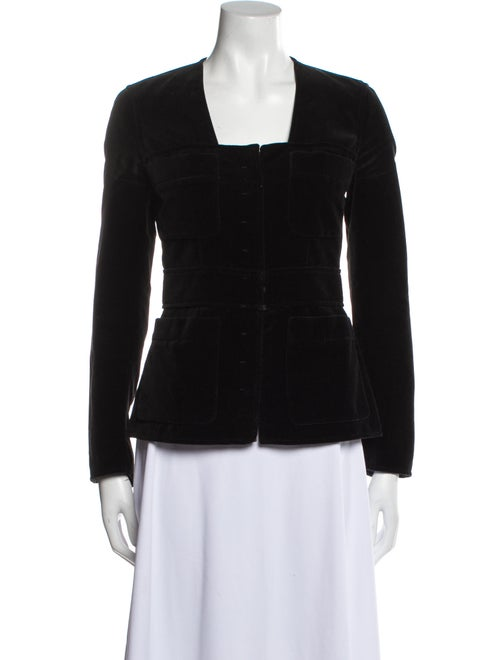Yves Saint Laurent Rive Gauche Evening Jacket Blac