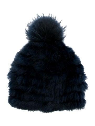 Pom-Pom Fur Hat