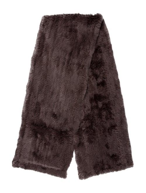 Yves Salomon Fur Woven Stole