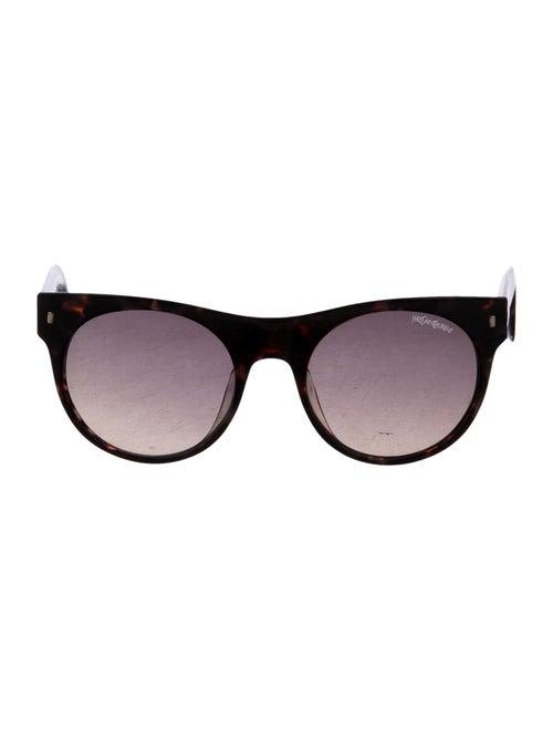 32cd9e81e Yves Saint Laurent Tortoiseshell Gradient Sunglasses - Accessories ...