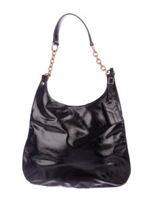 323cf2830a7 Yves Saint Laurent. Patent Leather Hobo