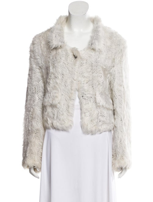 Yves Saint Laurent Shearling Collared Jacket