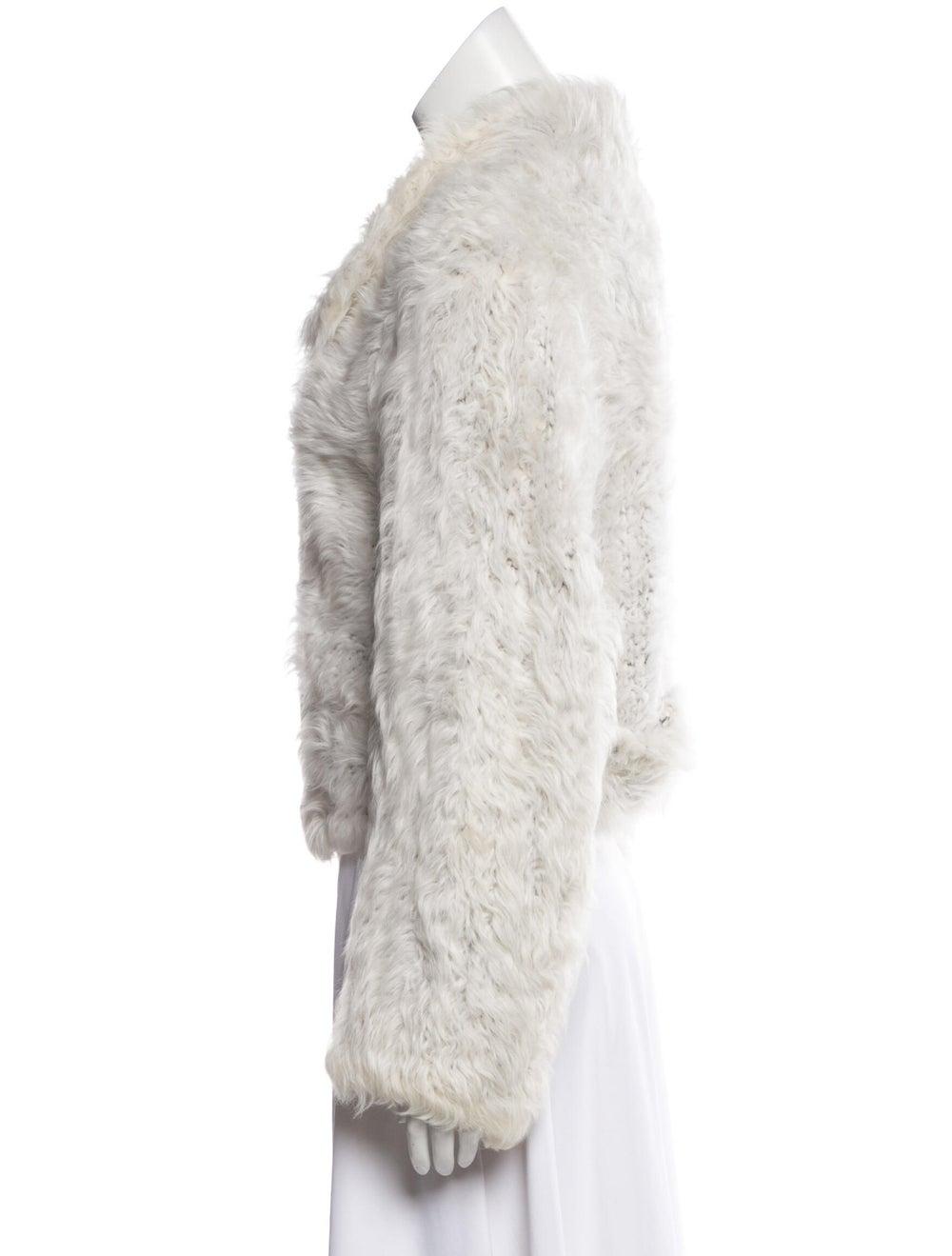 Yves Saint Laurent Shearling Collared Jacket - image 2