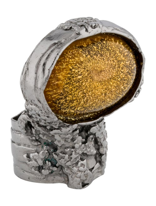 Yves Saint Laurent Resin Arty Ring