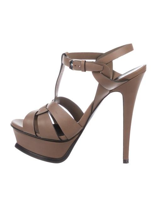 Yves Saint Laurent Tribute Platform Sandals