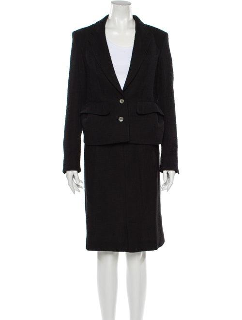 Yves Saint Laurent Skirt Suit Black