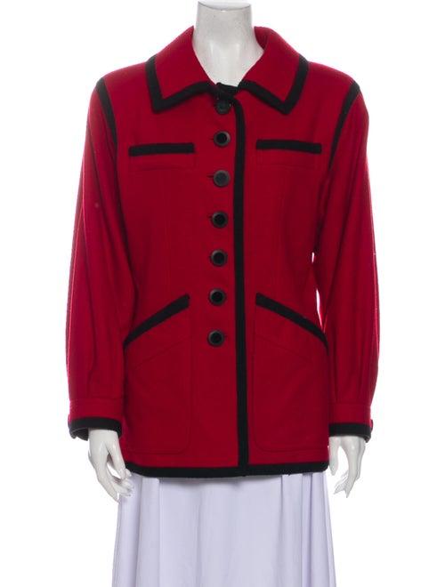 Yves Saint Laurent Wool Jacket Wool