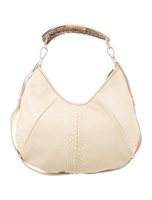 Yves Saint Laurent Mombasa Python Bag Gold