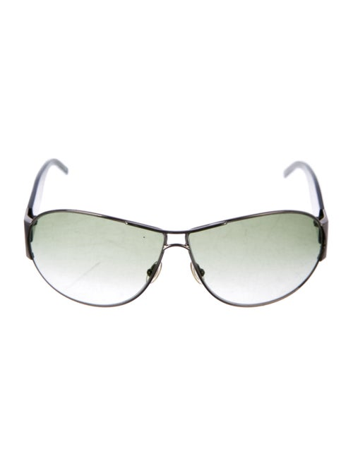 Yves Saint Laurent Aviator Gradient Sunglasses Sil
