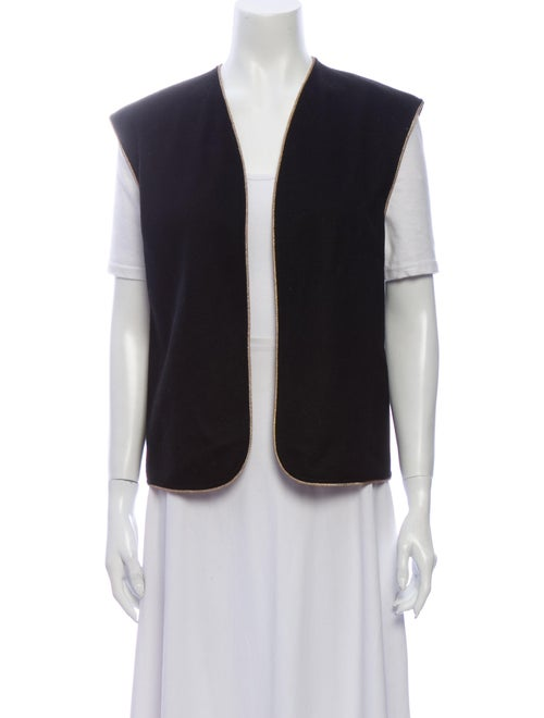 Yves Saint Laurent Vintage Wool Vest Wool