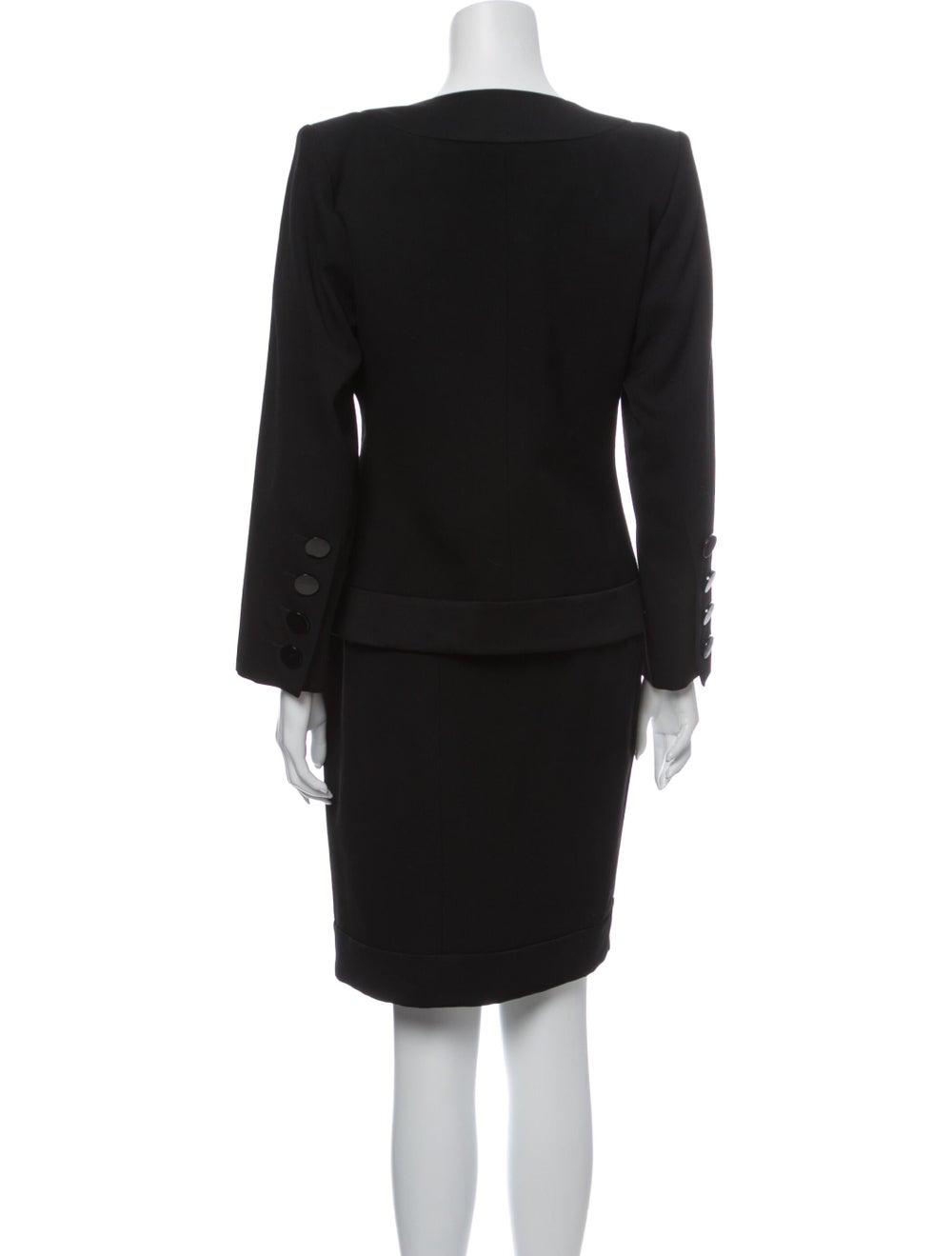 Yves Saint Laurent Vintage Skirt Suit Black - image 3