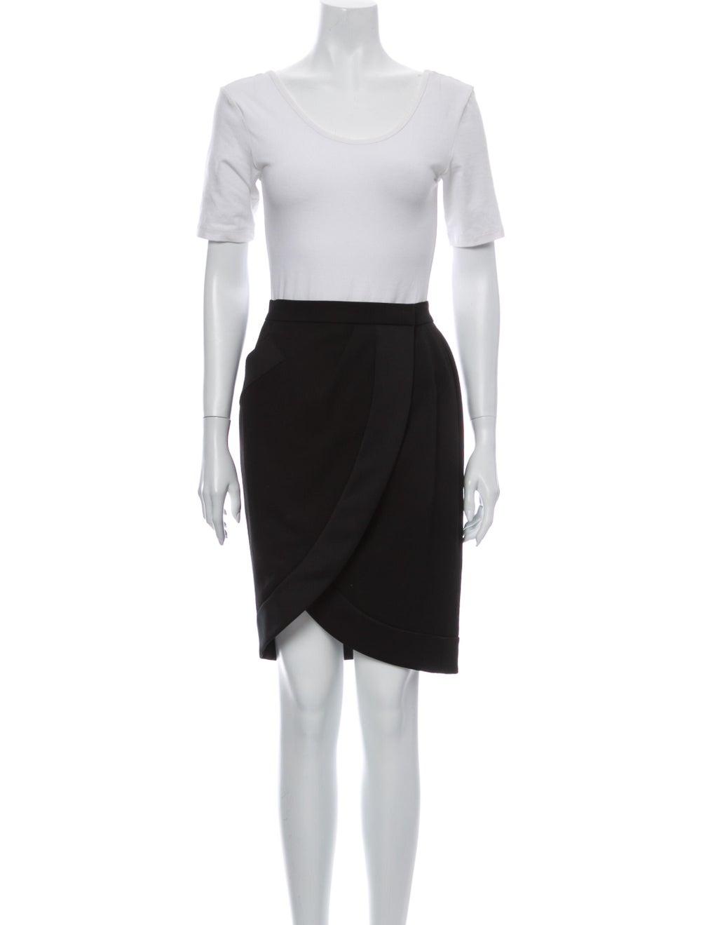 Yves Saint Laurent Vintage Skirt Suit Black - image 4
