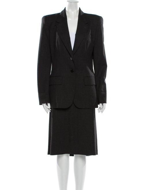 Yves Saint Laurent Skirt Suit Grey