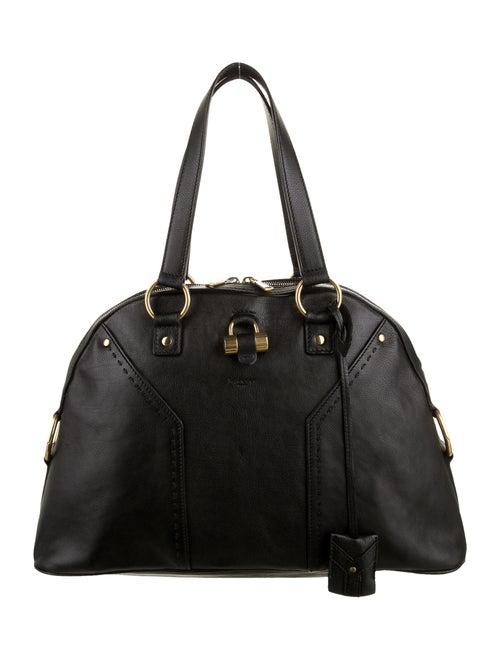 Yves Saint Laurent Muse Leather Bag Black