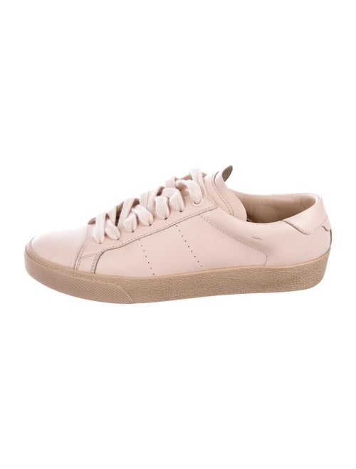 Yves Saint Laurent Leather Sneakers Pink