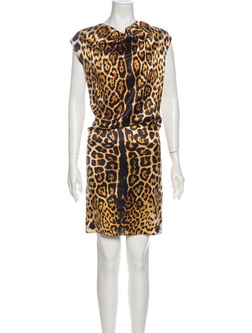 Yves Saint Laurent Silk Mini Dress