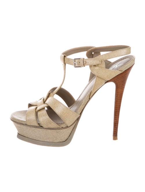 Yves Saint Laurent T-Strap Sandals