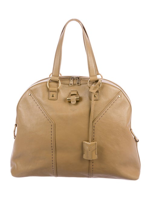 Yves Saint Laurent Large Muse Bag Gold