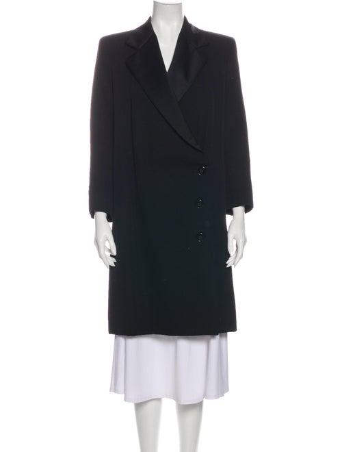 Yves Saint Laurent Coat Black