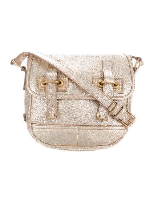 Yves Saint Laurent Metallic Crossbody Bag Gold