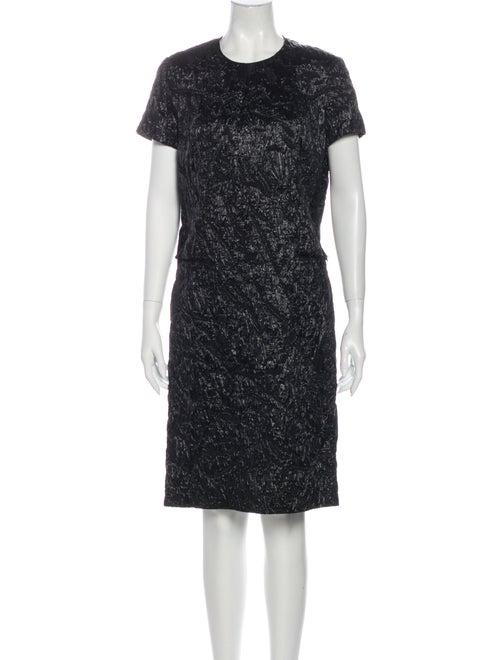 Yves Saint Laurent 2007 Knee-Length Dress Black