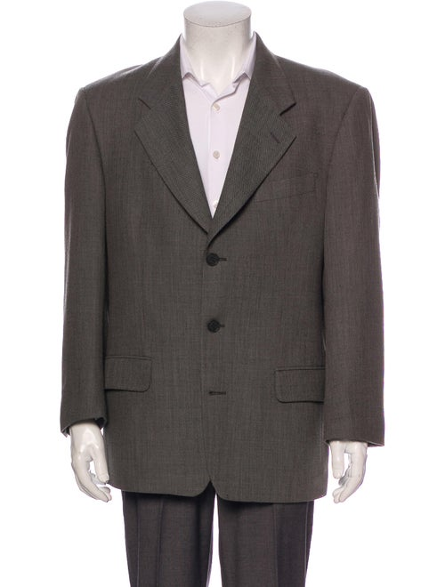 Yves Saint Laurent Wool Suit Wool