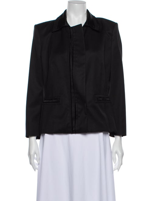 Yves Saint Laurent Wool Utility Jacket Wool
