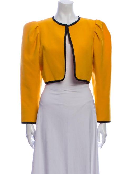 Yves Saint Laurent Vintage Bolero Yellow