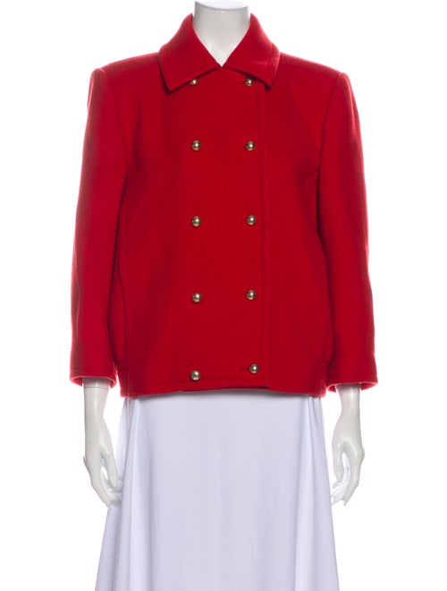Yves Saint Laurent Vintage Utility Jacket Red