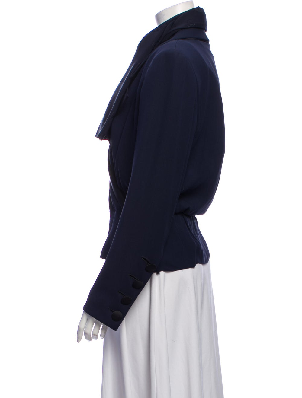 Yves Saint Laurent Vintage 1970's Evening Jacket … - image 2
