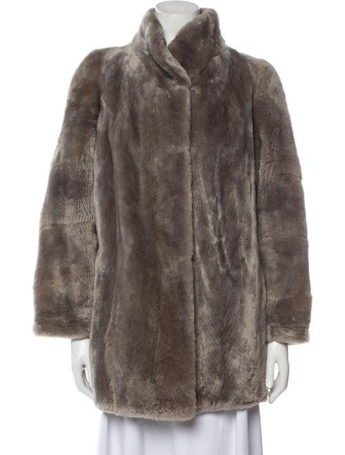 Yves Saint Laurent Vintage 1980's Faux Fur Jacket