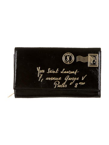 5f42669122a Yves Saint Laurent Y-Mail Wallet - Accessories - YVE23520 | The RealReal