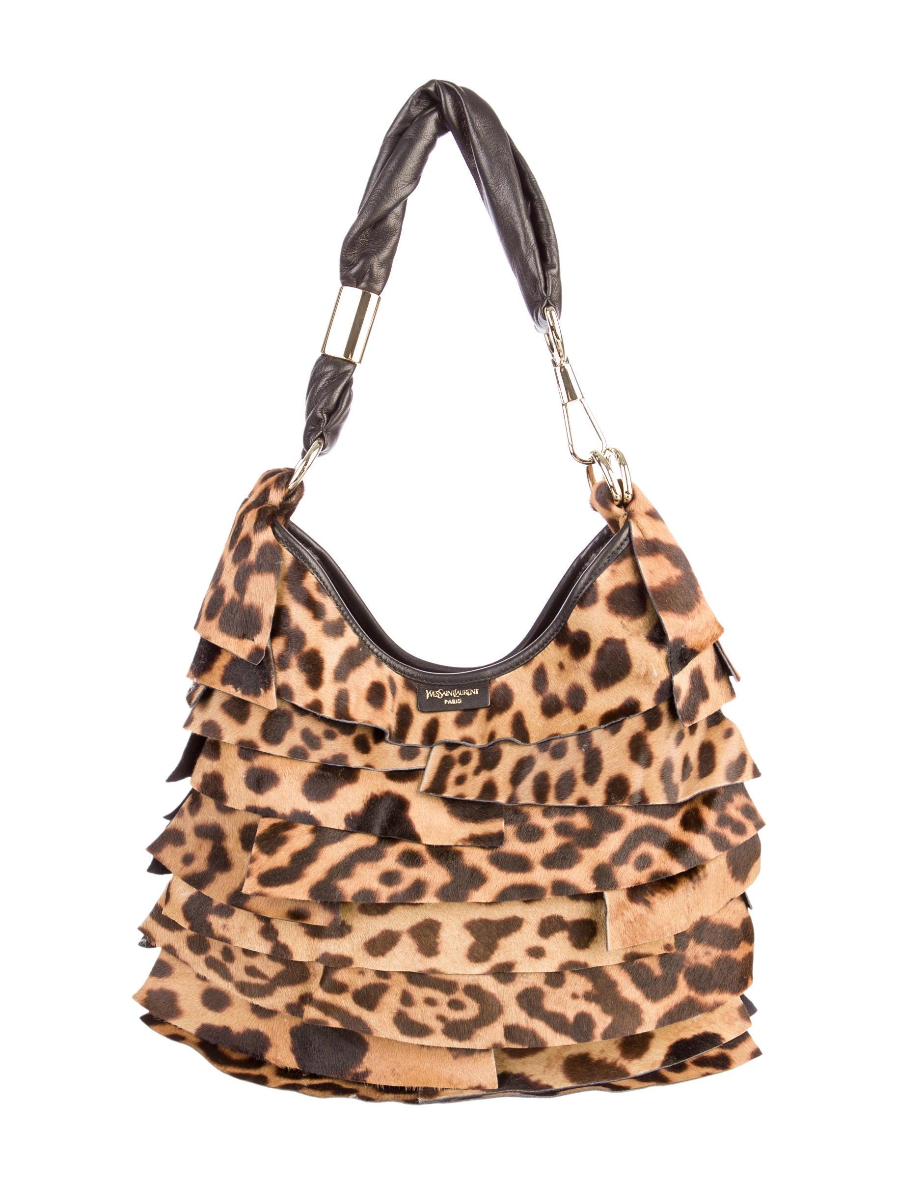 c64380534567 Yves Saint Laurent Ponyhair St. Tropez Bag - Handbags - YVE26660 ...