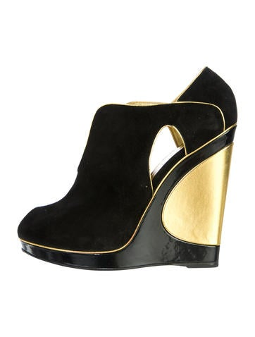 Maggy 105 Wedge Booties w/ Tags