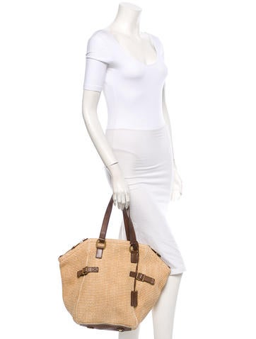 Straw Downtown Tote