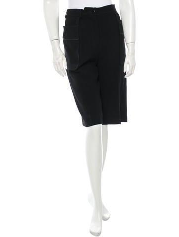 Yves Saint Laurent Wool Shorts None