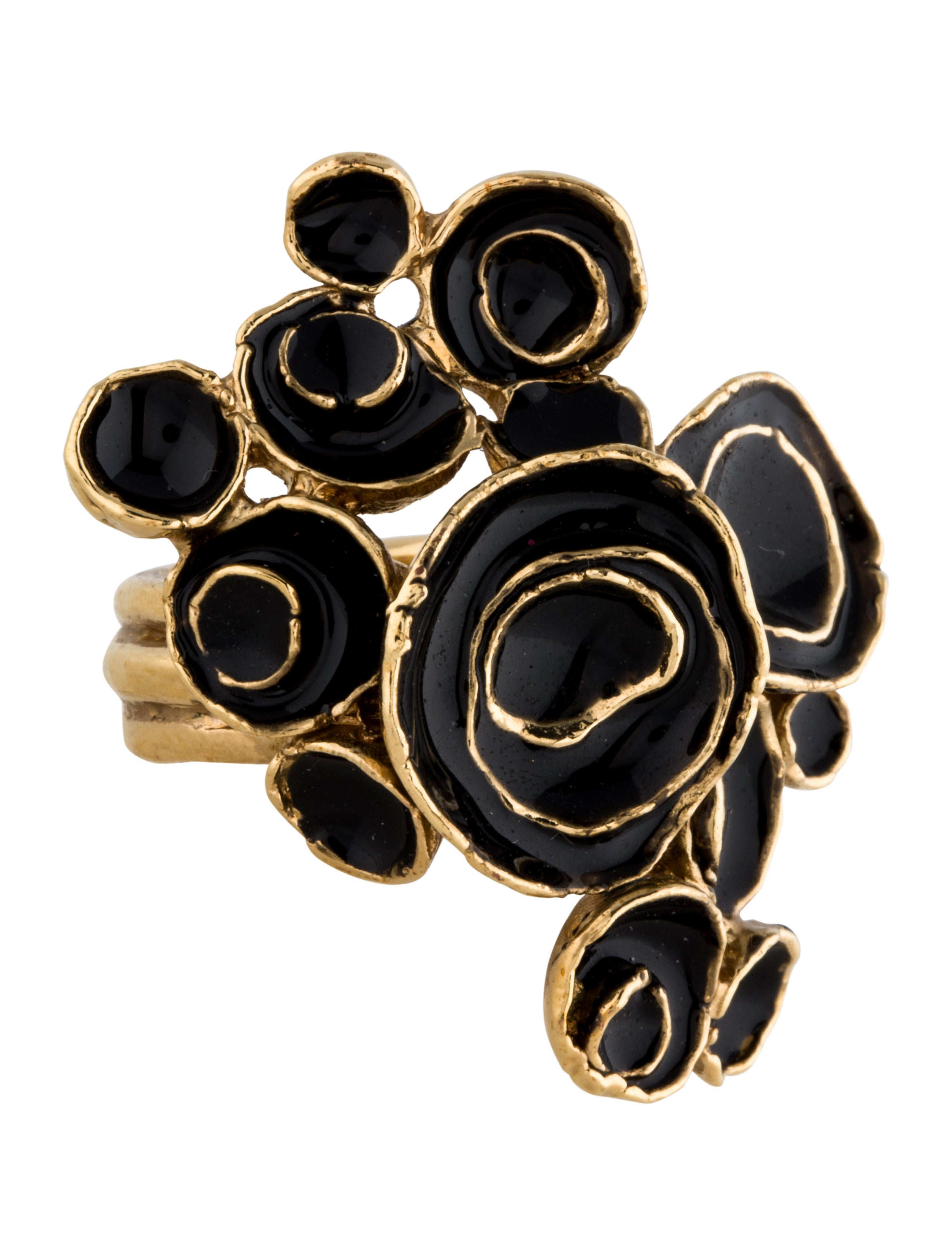 laurent fashionably products costume yves gold engagement saint arty ring rings metal image yours