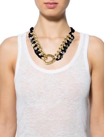 Velvet Chain Necklace
