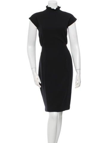Wool Tutleneck Dress