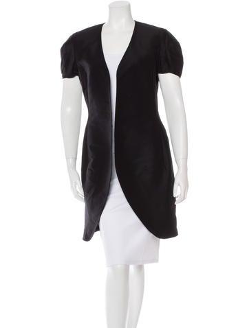 Yves Saint Laurent Wool Open-Front Blazer None