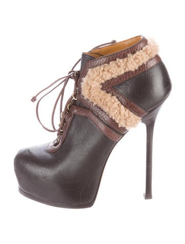 Tribute Two Shearling Booties