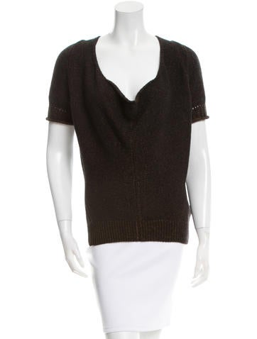 Yves Saint Laurent Cashmere Scoop Neck Sweater w/ Tags None