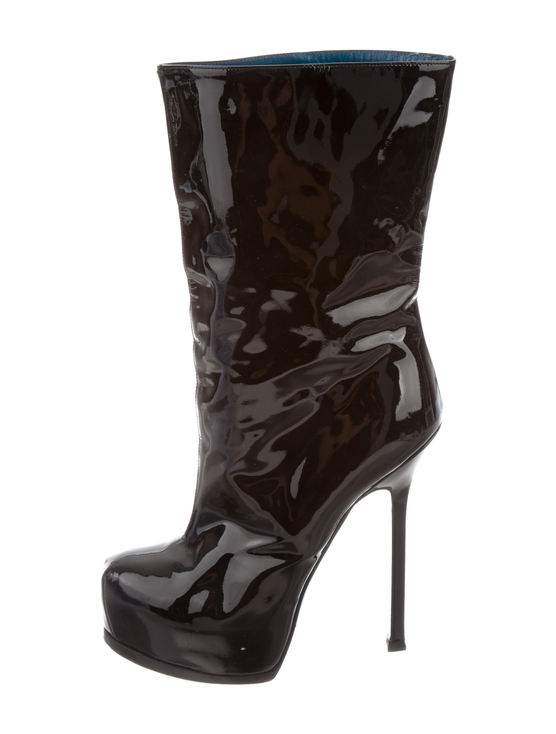 Find patent leather platform boots at ShopStyle. Shop the latest collection of patent leather platform boots from the most popular stores - all in one.