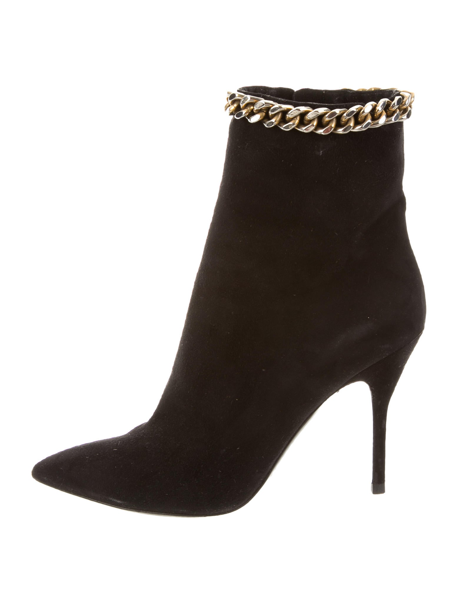 yves laurent suede ankle boots shoes yve53197