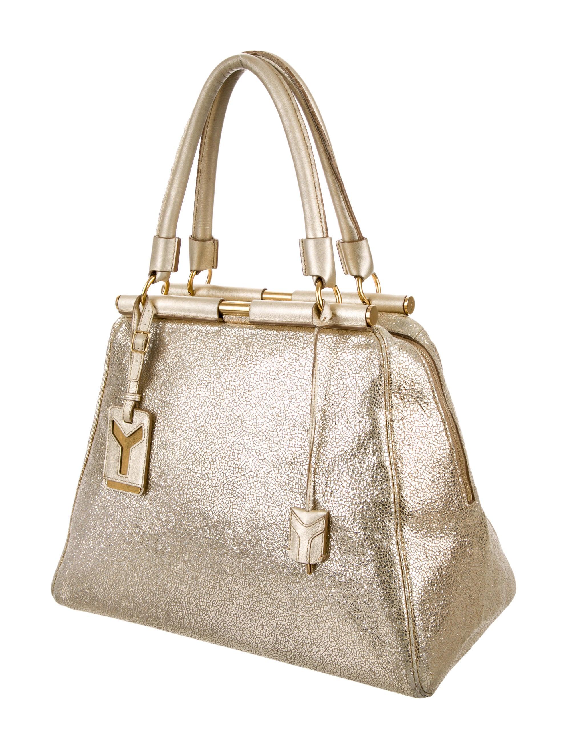 Yves Saint Laurent Metallic Majorelle Bag