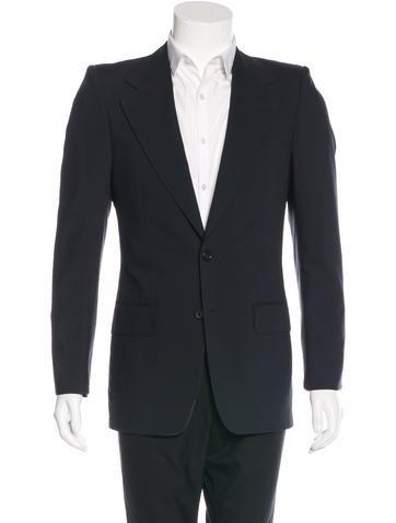Yves Saint Laurent Wool SL18 Blazer None