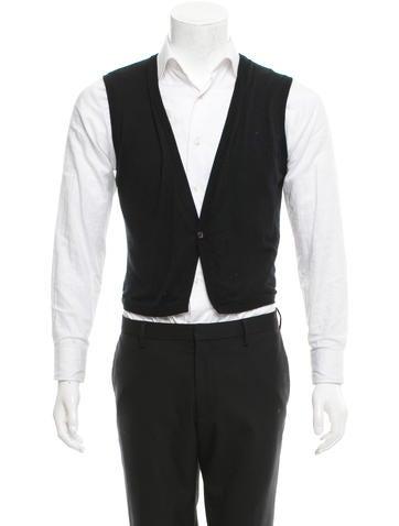 Yves Saint Laurent Silk Knit Vest None